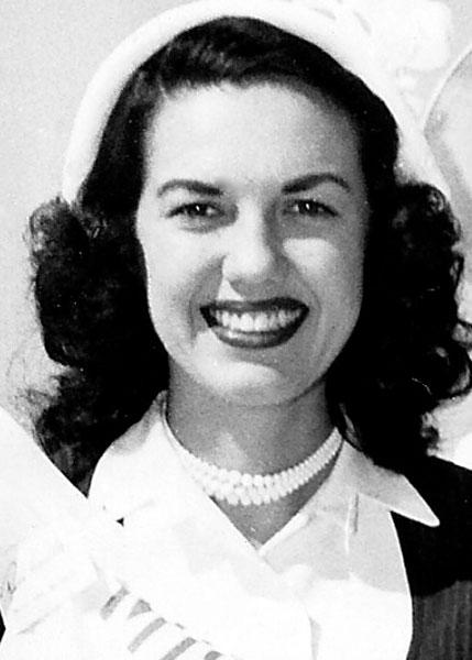 "Ruth ""Trudy"" Hausler Miss San Antonio 1951"