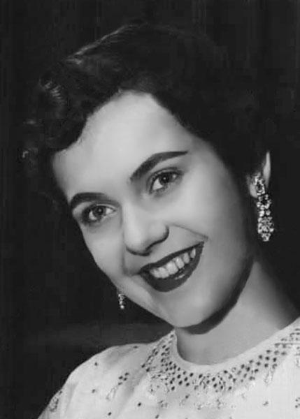 Sarah Belcia Miss San Antonio 1954
