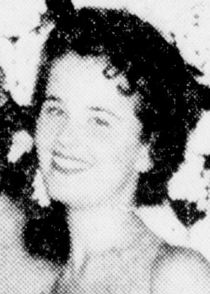 Jacklyn Gay Clark Miss San Antonio 1958