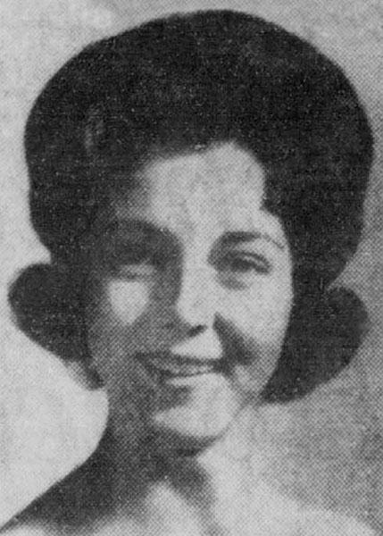 Julia Diane Combs Miss San Antonio 1962