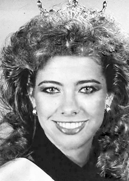Melissa Gustafson Miss San Antonio 1983