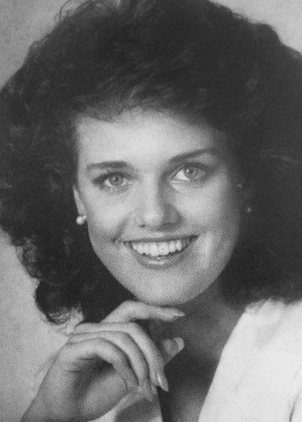 Kristen Green Miss San Antonio 1985