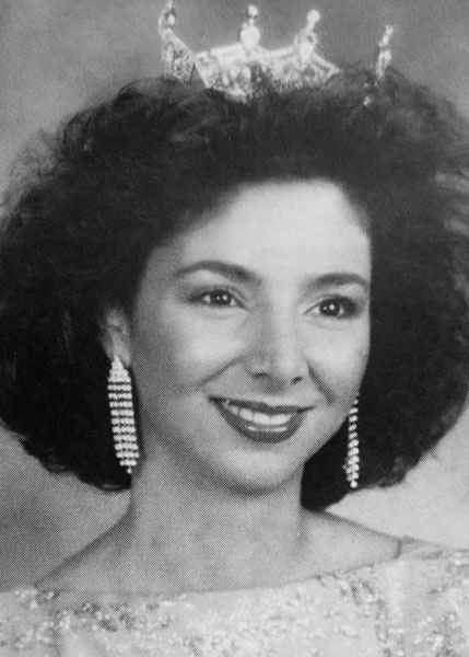 Carla Cristadoro Miss San Antonio 1987