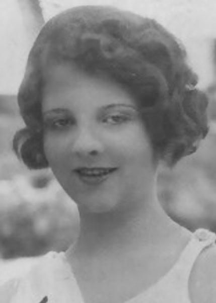 Anna Debrow Miss San Antonio 1928