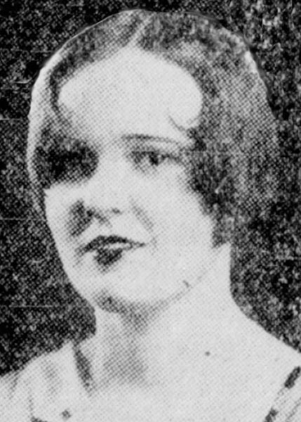Geneva Reed Miss San Antonio 1929