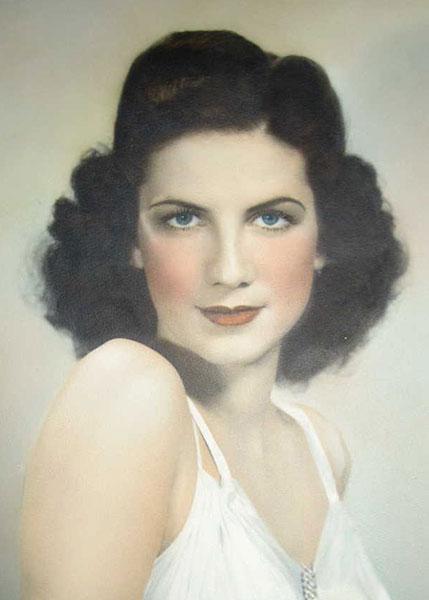 Mignon Julia Moore Miss San Antonio 1935