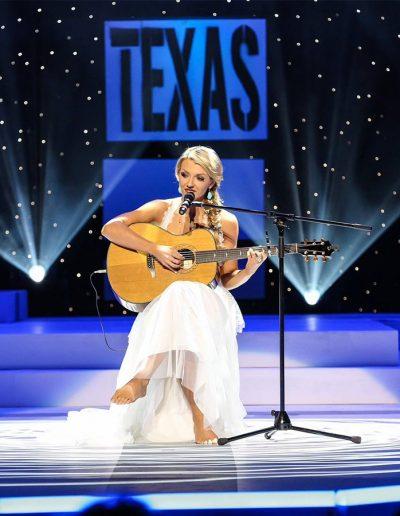 Talent at Miss Texas